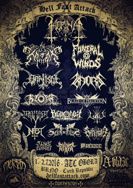 07/02/2016: Hell Fast Attack festival
